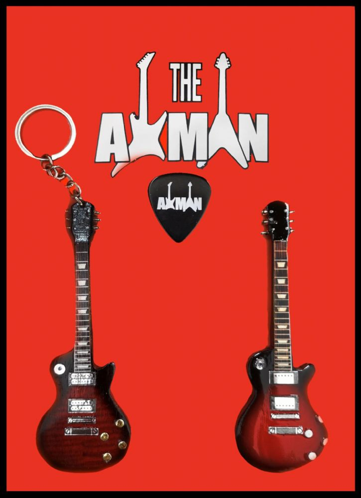 (Rush) Alex Lifeson: Axcess: : Keyring & Magnet Variation (UK Seller)